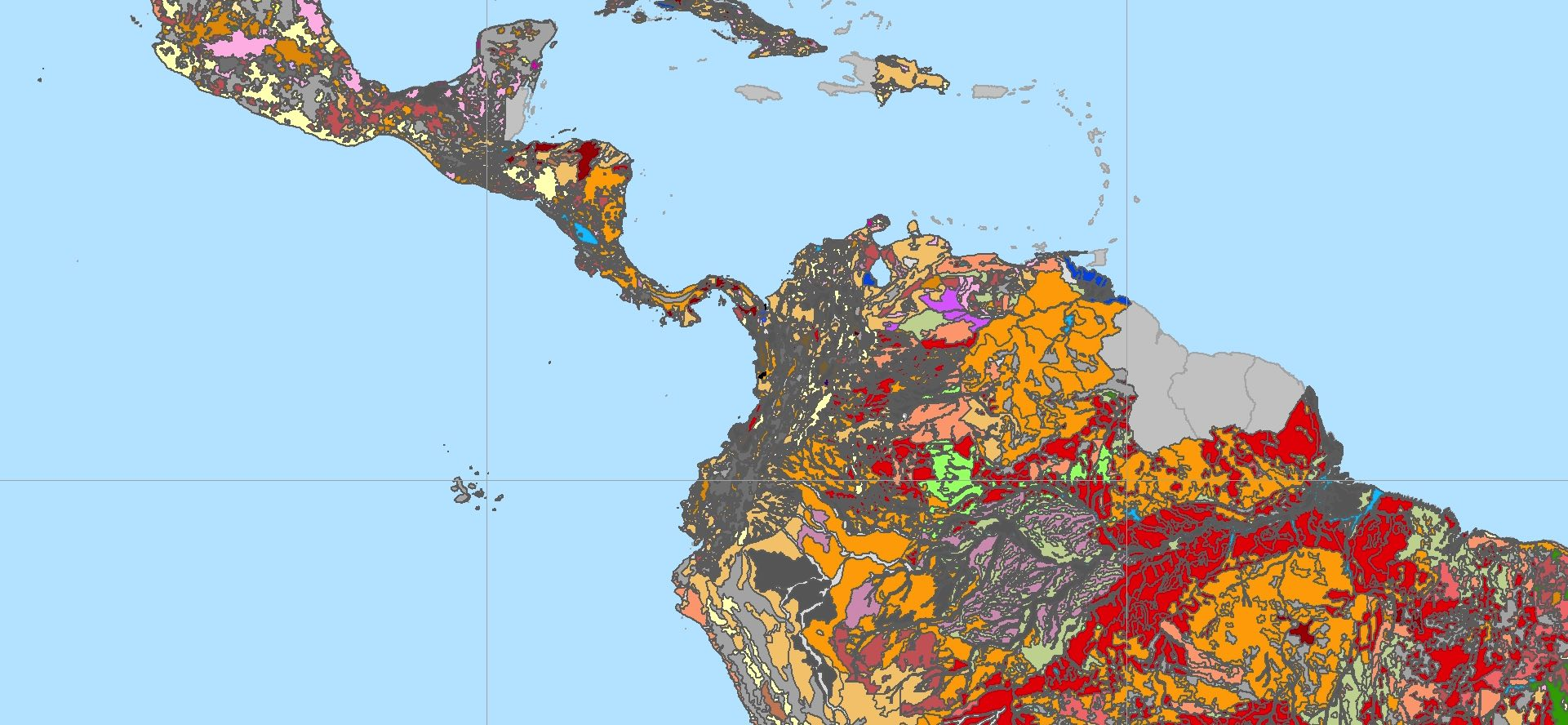 latin american soil information system water land and