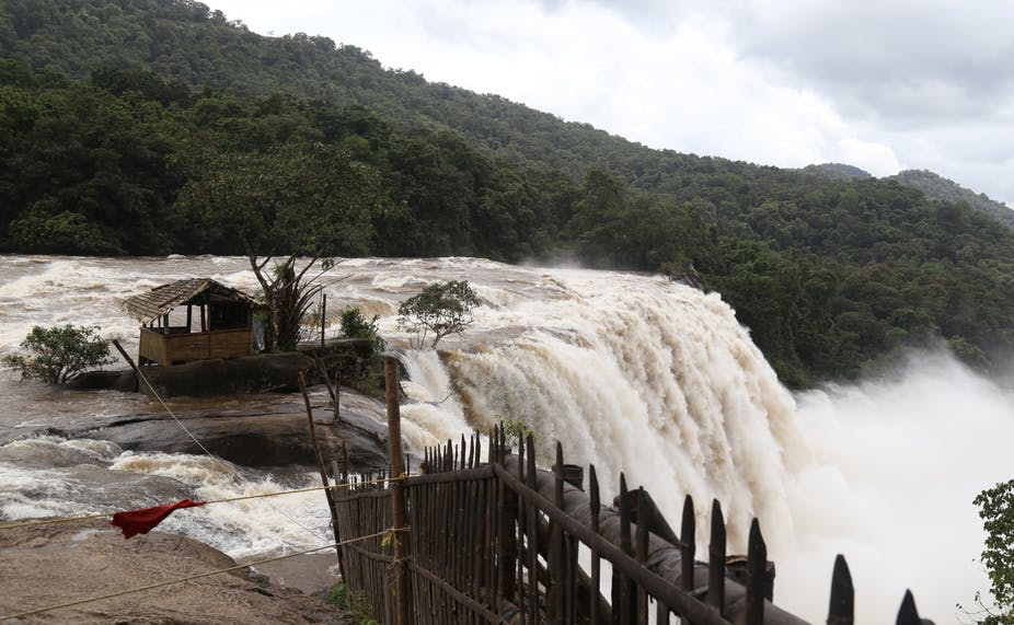 Heavy rainfall recently devastated large swathes of Kerala, India