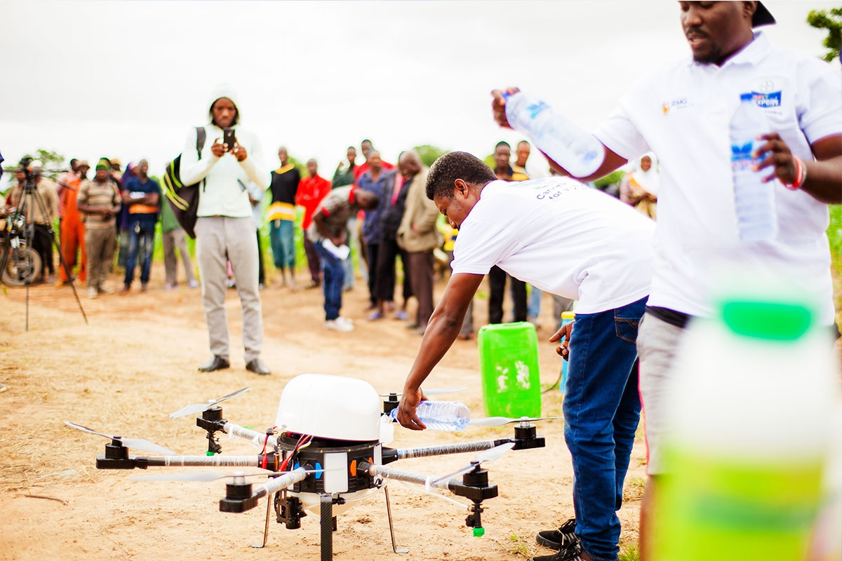 How Ghana is harnessing technology for food security | Water, Land