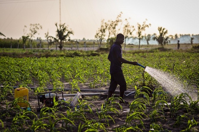 Potential for small-scale irrigation to contribute to improved production and livelihoods has yet to be fully tapped  Source: IWMI Flickr