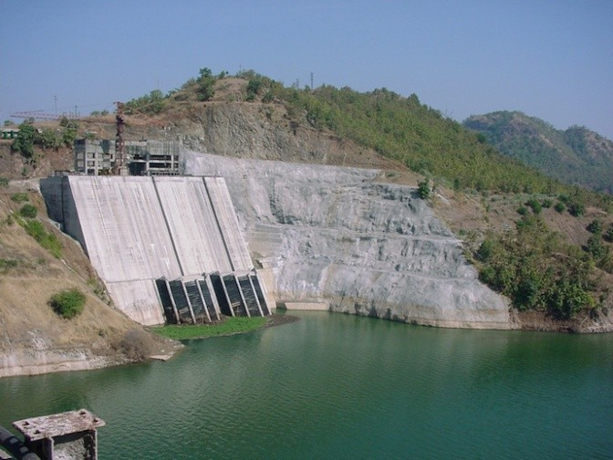 The Narmada Dam in India. Photo Credit: Frank Rijsberman