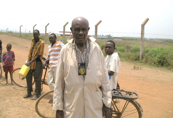Dalmas, 74 year old, born in the Yala Swamp on the shores of Lake Victoria.