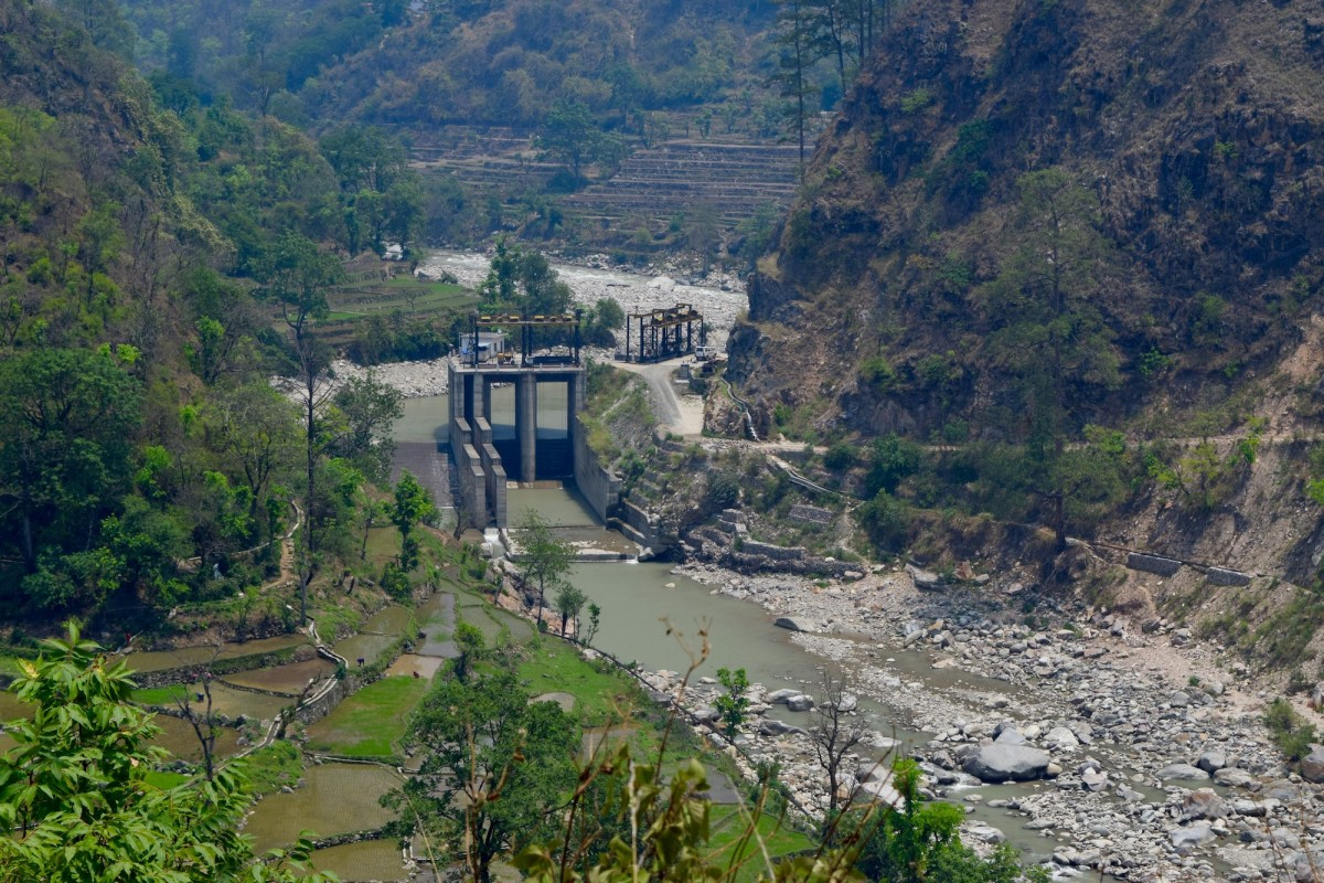 Run-of-the-river hydroelectric scheme