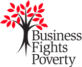 Business fights poverty logo