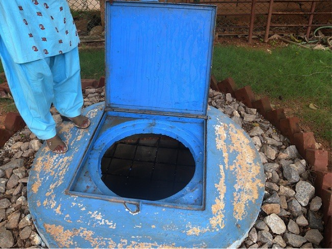 A groundwater recharge well in India. Photo: India Water Portal on Flickr
