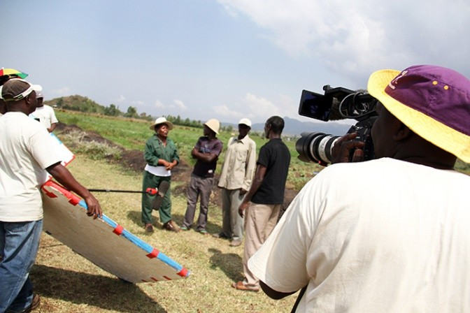 TV helps farmers shape up soils in East Africa.