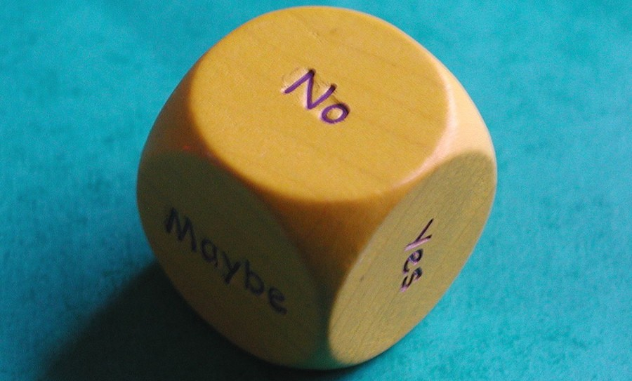 Decision making dice