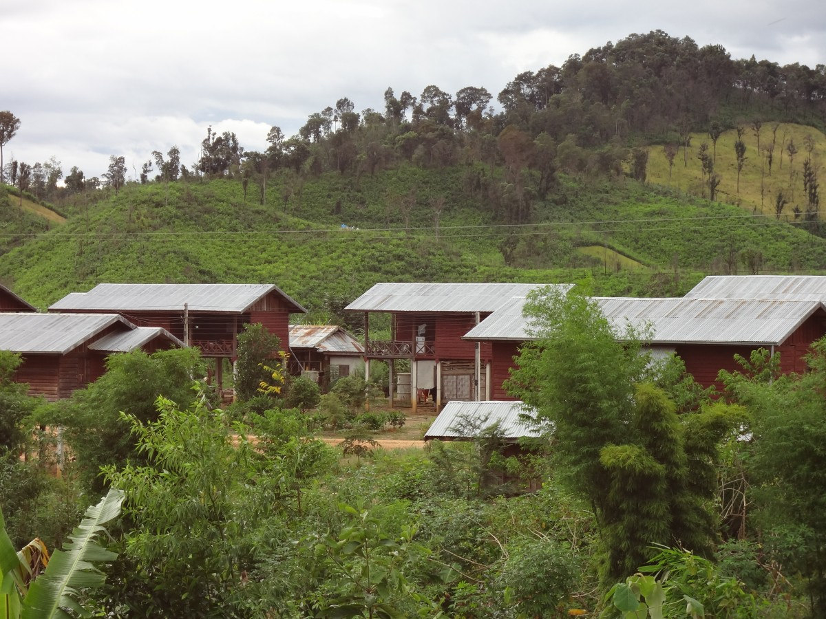 resettlement village in Bolikhamxay province Lao