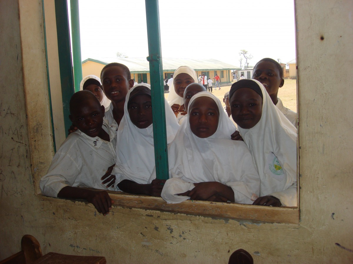School children in rural Nigeria