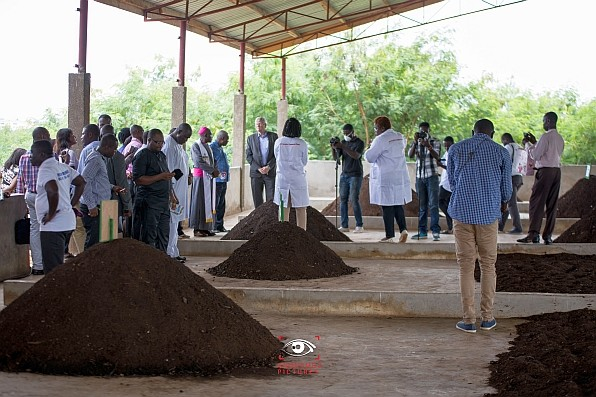 The first commercial co-composting plant in West Africa was launched on May 11, 2017.