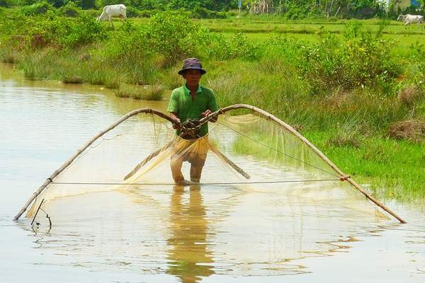 Fisherman in the Greater Mekong region