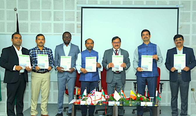 Launch of a policy brief at the SAARC (South Asian Association for Regional Cooperation) Day held on 9 Dec 2019, Gujarat, India