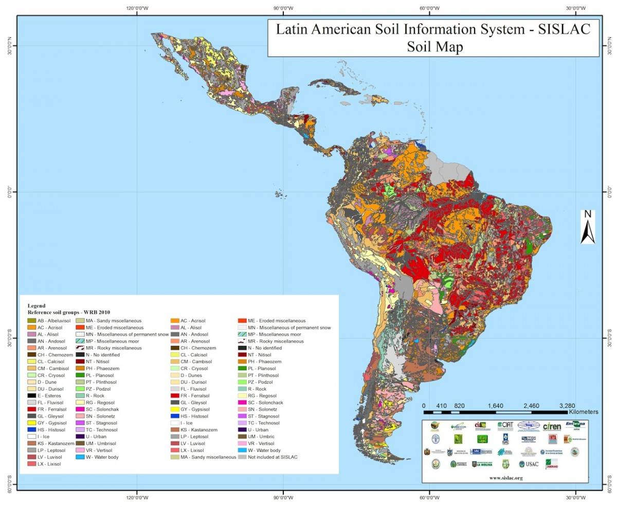 Latin American Soil Information System | Water, Land and ... on jamaica map, uygur map, 70's map, quebecois map, central america map, south america map, acholi map, valencian map, journalism map, rhetoric map, peruana map, dutch map, instructional map, chichewa map, armaic map, european map, eurovision map, old nubian map, roman map,