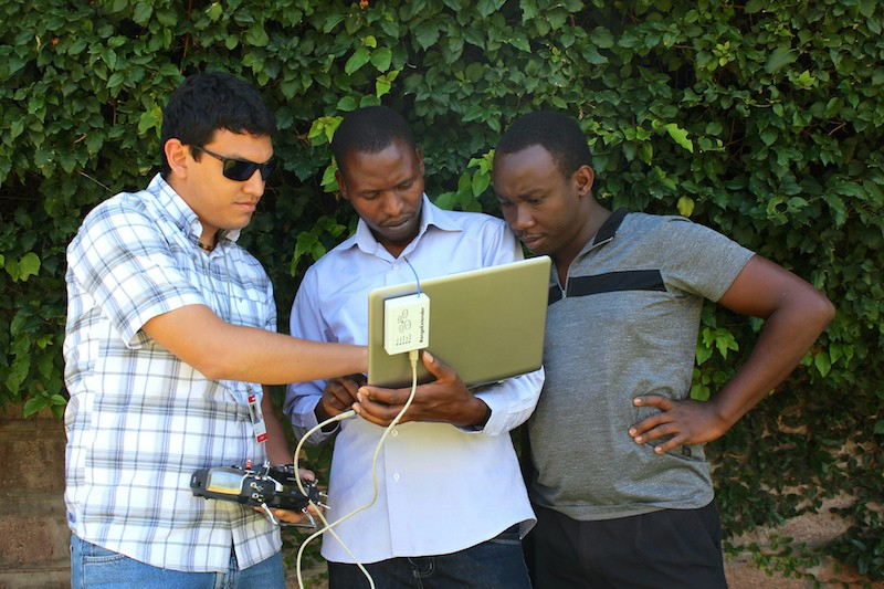 Testing the Unmanned Aerial Vehicle (UAV)