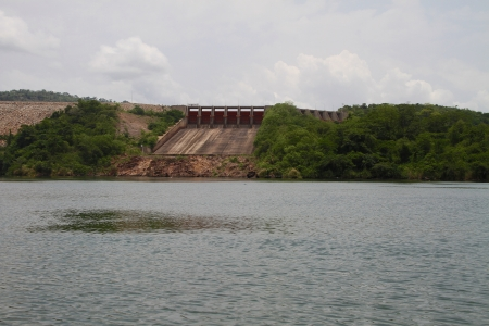 Ghana's Akasombo Dam on the Volta River.