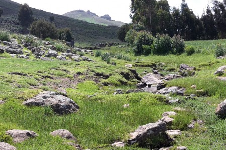 Small river highland watershed Ethiopia SHARE