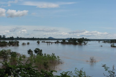 Mekong floodplain in Cambodia