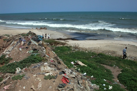 Urban waste in Accra, Ghana