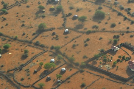 Outskirts of Wajir town, in northern Kenya.
