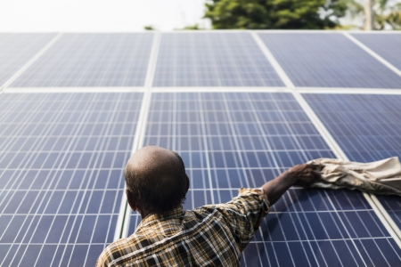 Solar Water Pumps- Electricity Thamna