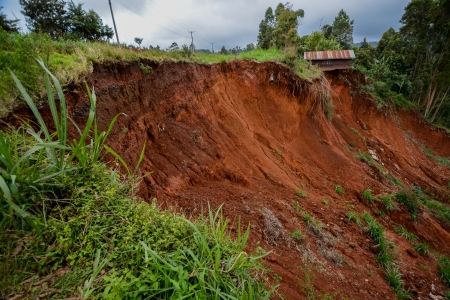 Extreme erosion is eating away at productive farmland and harming water supplies