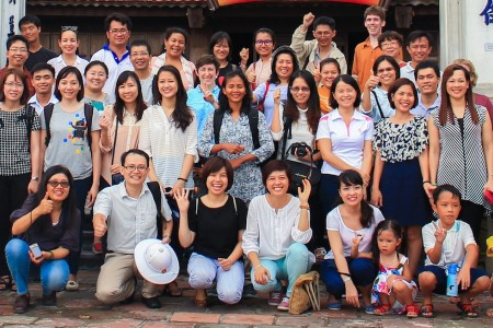 All of the fellows at the research design workshop in Hanoi, May 20-22, 2015.20 to 22nd May, 2015
