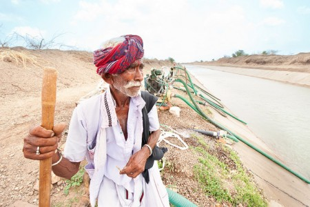 india water pipes canal farm