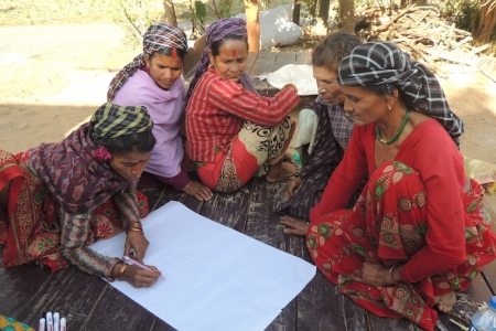 Women's group nepal