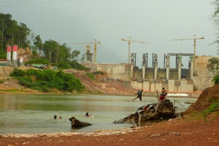 lao children hydropower dam resettlement