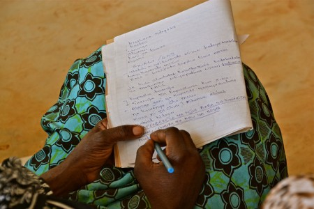 Climate training Note taking Tanzania