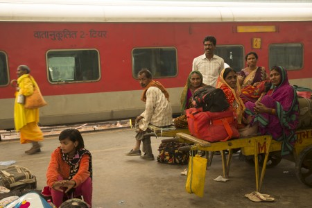 Migration family Delhi Train Royal Society london