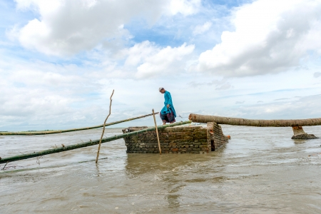 High-tech insurance compensating Bangladesh's farmers for flooded crops