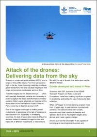 Attack of the drones | Water, Land and Ecosystems