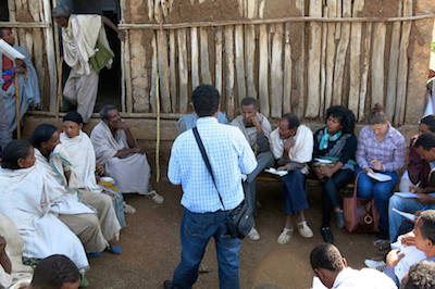 Gender workshop in Ethiopia
