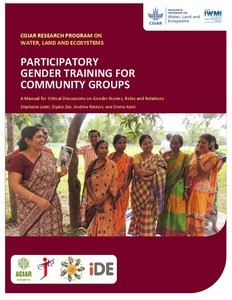 WLE gender training manual cover